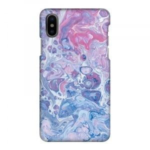 Mobilskal Marmor 1 Blå/Rosa