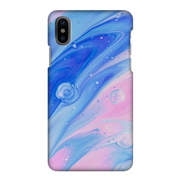 Mobilskal Marmor 2 Blå/Rosa