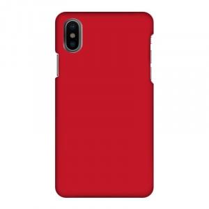 Mobilskal Enfärgat Chili Röd