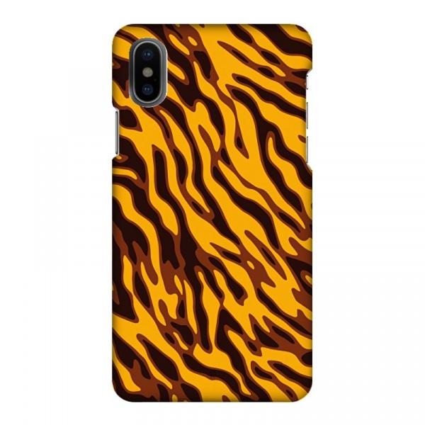 Mobilskal Tiger Bengal Svart/Orange