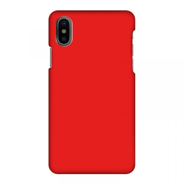 Mobilskal Enfägat Lava Röd