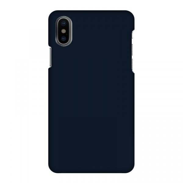 Mobilskal Enfärgat Marinblå