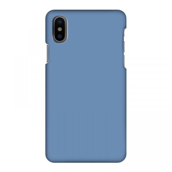 Mobilskal Enfärgat Ljusblå