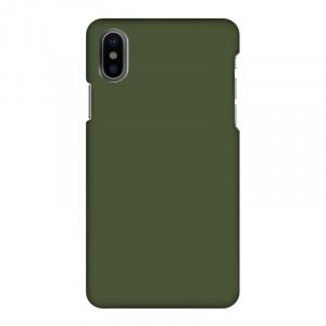 Mobilskal Enfärgat Grön