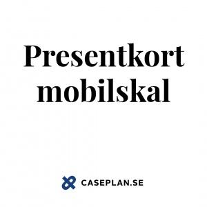 Presentkort för mobilskal