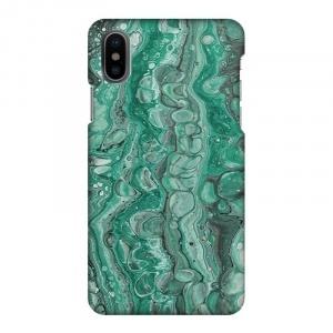 Mobilskal Marmor Grön