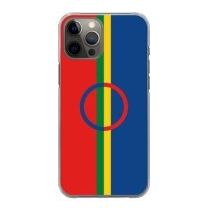 Mobilskal Samiska flaggan